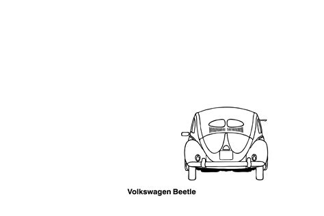volkswagen drawing vw clipart 64