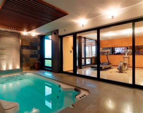 House Plans With Indoor Pool 45 amazing luxury finished basement ideas home