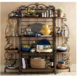 Country Bakers Rack Pin By On Decorating Ideas