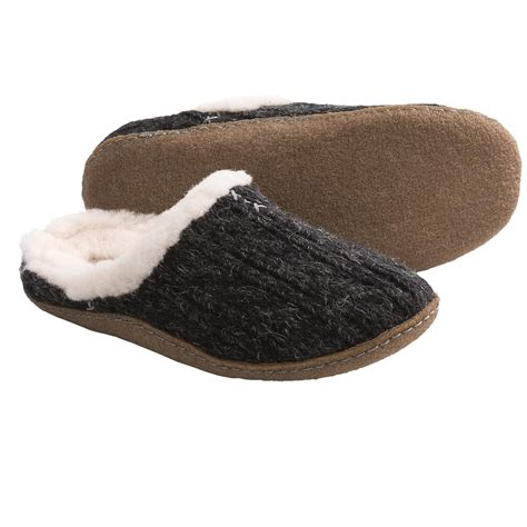 sorel slippers sorel nakiska slide knit slippers for 6878x