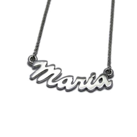 cadenas con nombre maria collar con nombre personalizado maria comprar online en