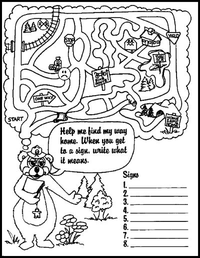 home safety coloring pages coloring page for kids