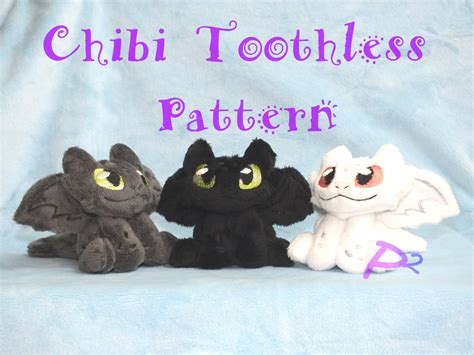 toothless pattern etsy pattern for chibi toothless plush in the hoop pattern and