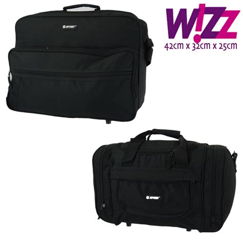 small cabin baggage wizzair wizz air cabin bag luggage fits in 42x32x25cm