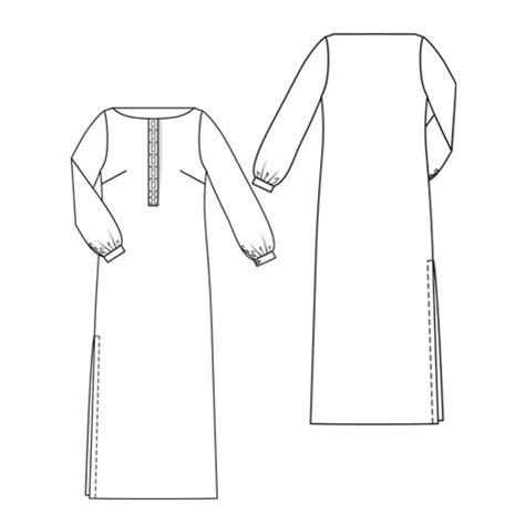 Maxi Longdress Lipat dress outline clipart best