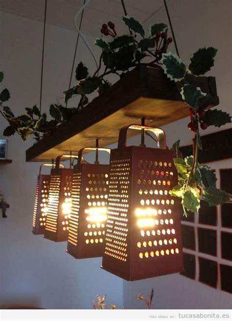 lamparas diy originales  creativas tu casa bonita