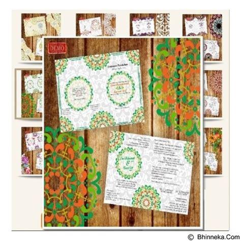 desain undangan motif bunga jual beedesign undangan motif ornament bunga merchant