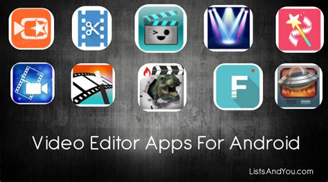 free app for android 10 best free editing apps for android in 2017