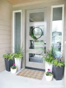 best 25 front porch planters ideas on front
