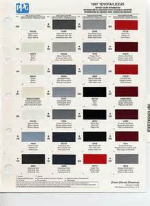 auto paint codes 1997 toyota paint codes auto paint colors codes autos auto