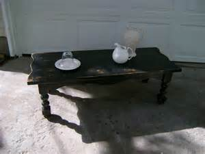 Distressed Black Coffee Table by Furniture Distressed Antique Distressed Black Coffee
