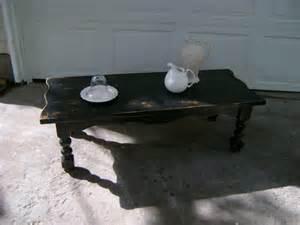 furniture distressed antique distressed black coffee
