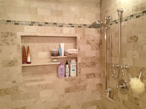 Bathroom Niche Ideas by Another Cool Shelf Idea Upstairs Bathroom