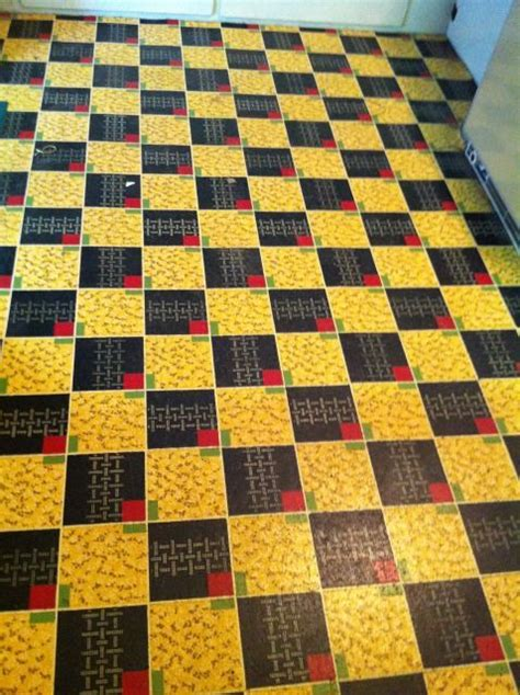 vintage pattern lino 77 best images about vintage caravan vinyl lino floors on