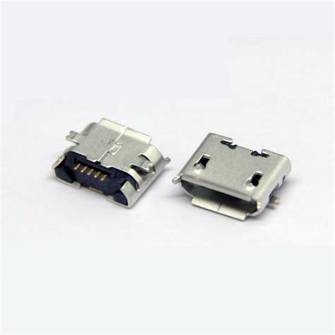 Soket Micro Usb Cewek Board Usb 01 1 aliexpress buy 10pcs micro usb type b 5pin smt socket connectors port pcb