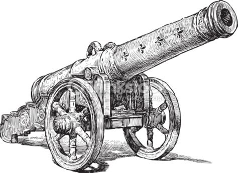 medieval cannon vector art thinkstock
