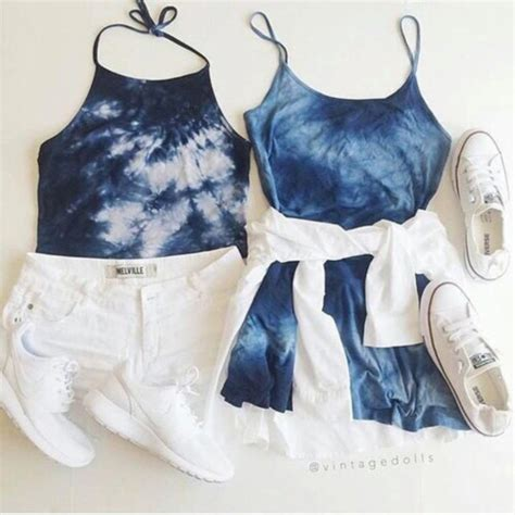 layout my outfit pinterest dress blue tie dye summer summer outfits cute tumblr