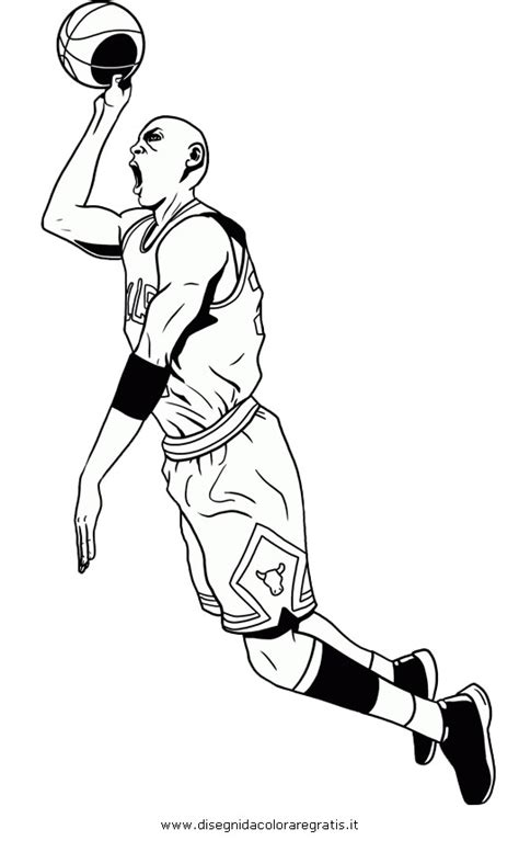 micheal jordan colouring pages page 2