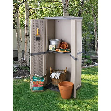 Vertical Outdoor Storage Shed by Keter 174 Vertical Storage Shed 120821 Yard Garden At
