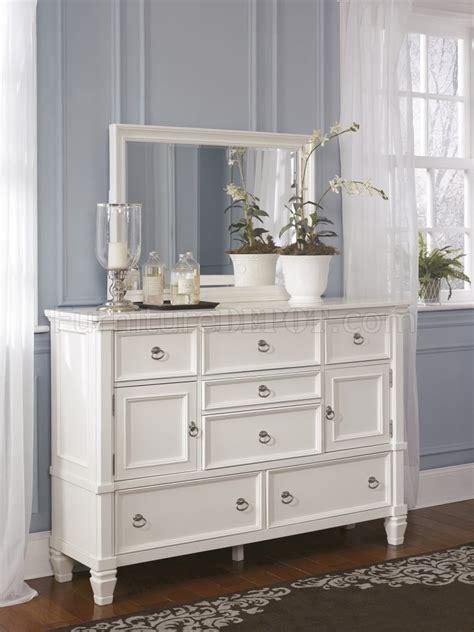 bedroom dresser sets prentice 5pc bedroom set b672 in white by furniture