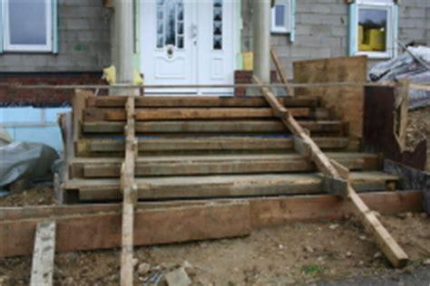 haustür montage treppe hauseingang bauunternehmen