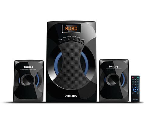 Speaker Komputer Philips multimedia speakers 2 1 mms4545b 94 philips
