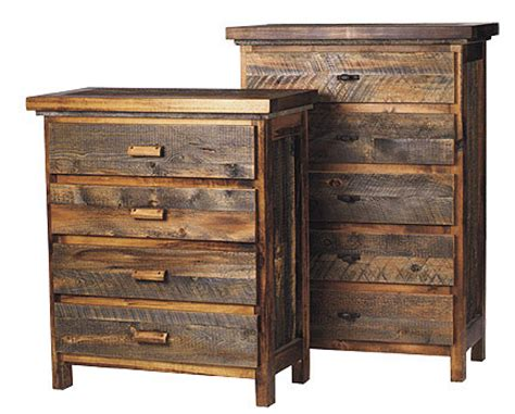 Wood Dresser by Rustic Reclaimed Wood Furniture Sustainable Furniture