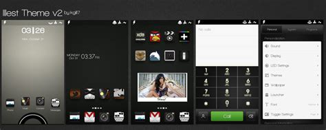 miui themes xposed theme illest icon set miuiv4 golauncher adw android