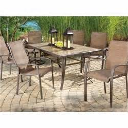 Patio Furniture At Big Lots Wilson Fisher 174 7 Pc Chesapeake Patio Dining Set Big