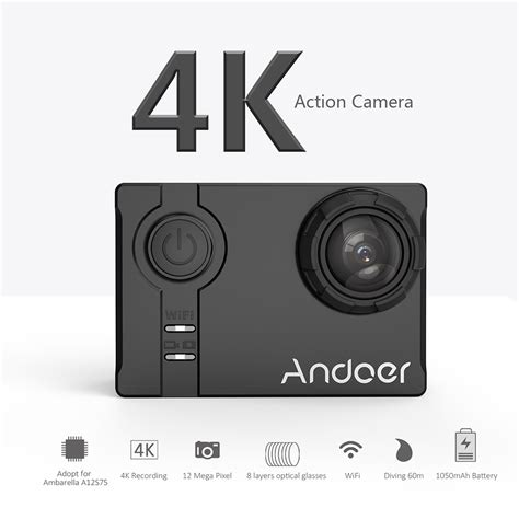 Promo Sport Wifi Lcd 2 Like Go Pro andoer an7000 4k 1080p hd wifi 16mp 2 0 quot lcd go sport pro adopt for