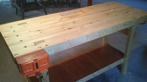work bench base build a 100 2x4 workbench with this simple instructable