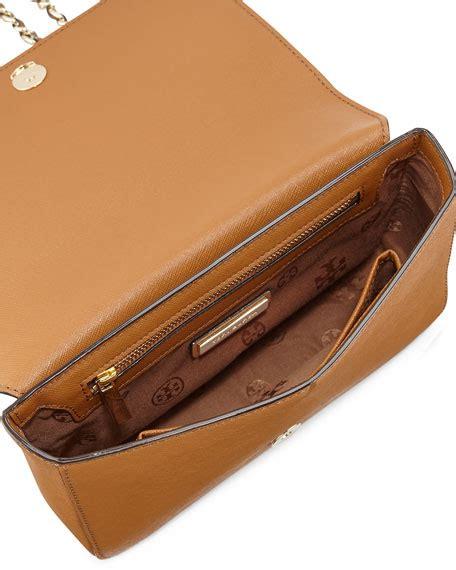 Tory Burch Gift Card Online - tory burch robinson saffiano chain strap shoulder bag tiger s eye