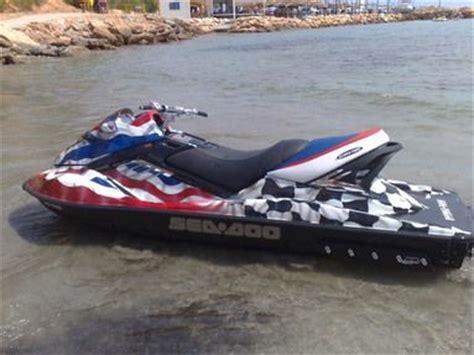 boat paint jobs near me very distinctive jetski stolen from torrevieja area 3000