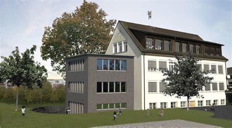 Architekt Stoll by Schulhaus Anbau M 246 Nchaltorf Ebert Stoll Architekturb 252 Ro