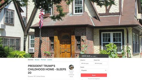 airbnb queens now on airbnb us president donald trump s childhood home