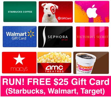 Does Rite Aid Sell Starbucks Gift Cards - run free 25 gift card starbucks walmart target