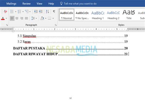 cara membuat nomor halaman berbeda dalam satu dokumen di cara membuat nomor halaman di word untuk pemula 100 rapi