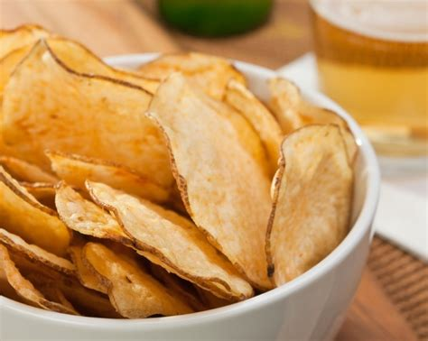 Handmade Crisps - how to make delicious potato chips at home the grid news