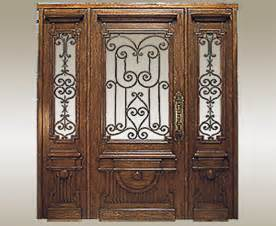 Decorative Door Designs by Exterior Doors With Glass Wood Glass Entry Doors With