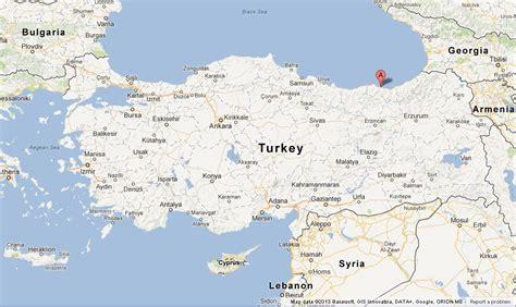 trabzon  map  turkey