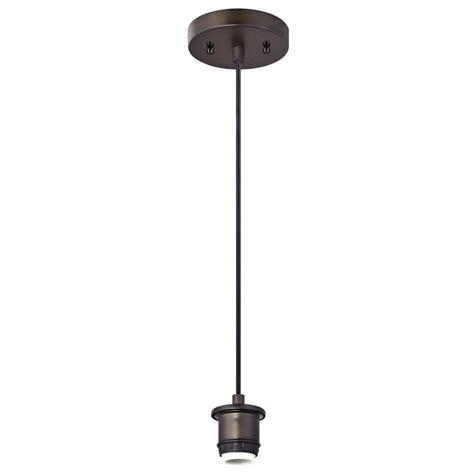 Westinghouse 1 Light Oil Rubbed Bronze Adjustable Mini Westinghouse Pendant Light