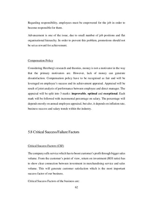 Project On E Commerce For Mba by Business Development Project For A Retail
