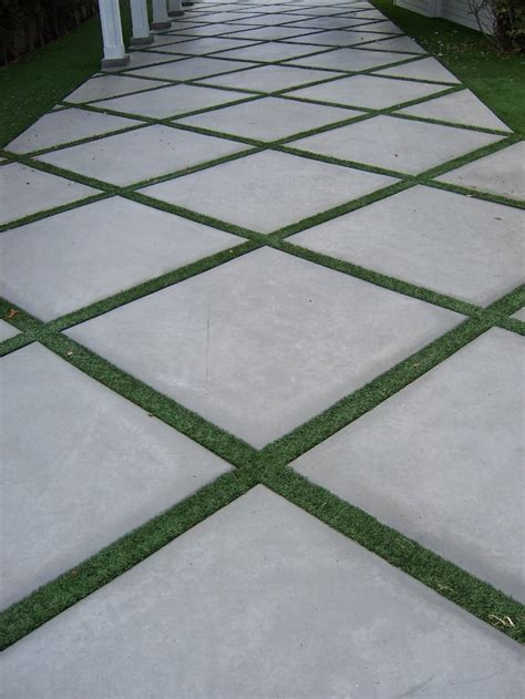 the 2 minute gardener photo concrete pathway accented