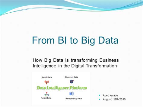 big data big business how to win with a big data strategy in the ai and machine learning age books how big data is transforming business intelligence
