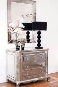chic beautiful dazzling mirrored furniture
