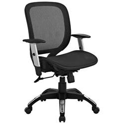 Office Chair Adjustable Armrest Arillus Contemporary All Mesh Office Chair W Adjustable