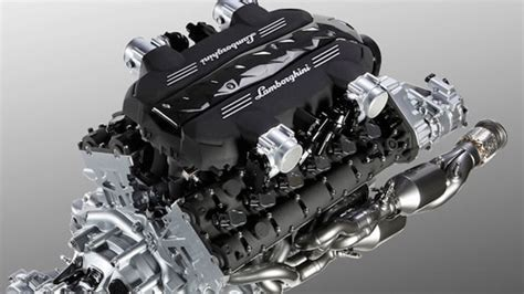 Motor De Lamborghini A Deeper Look At The Lamborghini Aventador S New V12 And