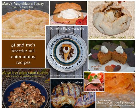 fall entertaining recipes gf and me s favorite fall entertaining recipes gf and me