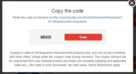 Nespresso Gift Card Code - 30 off nespresso coupon code save 20 in dec w promo code 2016