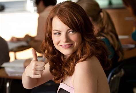 emma stone iq easy a a commentary on the s word dead curious